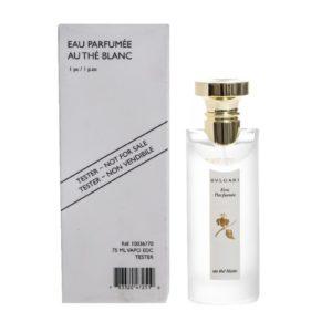 Bvlgari eau parfumee au the blanc edc 75ml tester