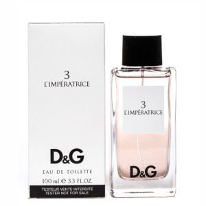 D&G Limperatrice 3 edt 100ml tester