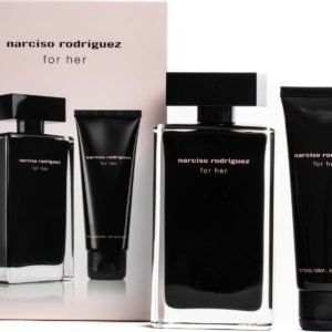 Narciso rodriguez for her edt 100 ml + narciso for her body lotion set